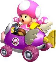 Mario Kart Wii Toadette