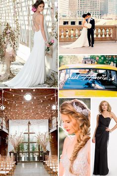 City chic wedding in