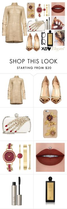 """""""Untitled #161"""" by elizabetta-i ❤ liked on Polyvore featuring Magda Butrym, Gianvito Rossi, Alexander McQueen, Dolce&Gabbana, Anne Klein, Ilia and Serge Lutens"""