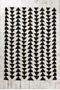 New Area rug for the apartment!!! KIND of like the west elm zig zag. more than half the price! Magical Thinking Arrowhead Rug