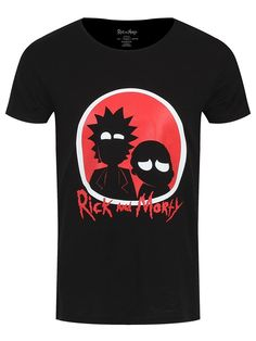 ce90303a43 Rick and Morty Men's Big Red Logo T-shirt Rick And Morty Merch, Red
