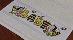 Artes Mariana Santos: Pintando letras em toalhinhas - Aula 16