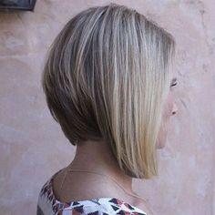 brown blonde layered bob