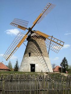 Sáfrik szélmalom Throughout The World, Around The Worlds, Holland Windmills, Heart Of Europe, Le Moulin, Eastern Europe, Amazing Nature, Homeland, Budapest