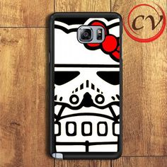 Hello Kitty Stormtrooper Samsung Galaxy Note 6 Case