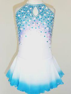 Beautiful Lovely Ice Skating Dress Size Girls Medium | eBay