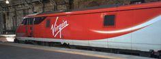 エディンバラで撮影した電気機関車