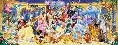 Disney Gruppenfoto (Ravensburger Puzzle)
