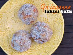 One of Gwinganna Lifestyle Retreat's signature recipes, Yolande's Tahini Balls, are served up as after-dinner treats or a snack when visiting the retreat.