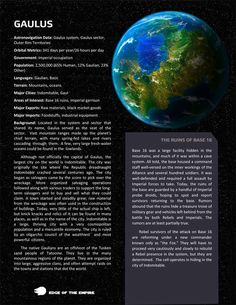 Planets planets and more planets Page 8 Star Wars: Edge of the Empire RPG - Star Wars Mandalorian - Ideas of Star Wars Mandalorian - Planets planets and more planets Page 8 Star Wars: Edge of the Empire RPG FFG Community List Of Planets, Planets And Moons, Star Wars Rpg, Star Wars Rebels, Star Trek, Galaxy Map, Star Wars History, Edge Of The Empire, Arte Sci Fi