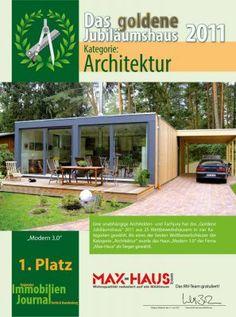 Urkunde Architektur Max Haus Modern 3.0