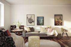 Living Room © Rendering 2013 - Architron