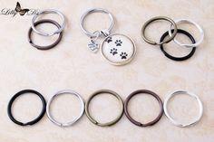 1 inch Round Split Key Rings
