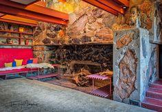 Garden Room Cove @wrighttaliesin #taliesinwest #franklloydwright #scottsdale #arizona
