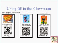 You Oughta Know About Blog Hop ~ Using QR Codes in the Classroom