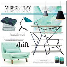 Shift by vinograd24 on Polyvore featuring interior, interiors, interior design, home, home decor, interior decorating, Frette and Baum