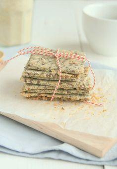 zelf crackers maken