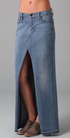 Denim skirt - must have for summer