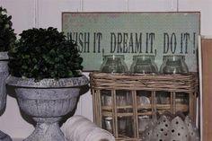 my shabby my dream      : Tabliczki  DIY
