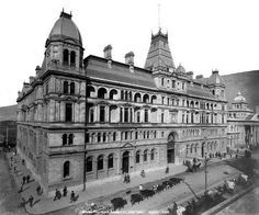 General Post Office, Adderley Street, Cape Town 1903   Flickr - Photo Sharing!