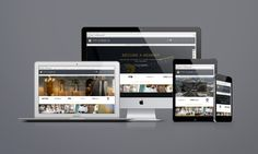 Brand Identity design and Website for The Sybarite, London White Space Advertising – Design and Web agency based in Devon