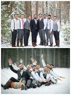 A Vintage Winter Wedding
