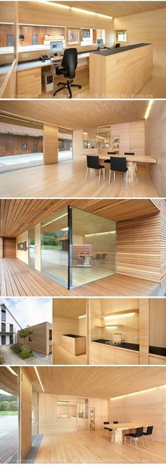 Oficina madera. Gardomo