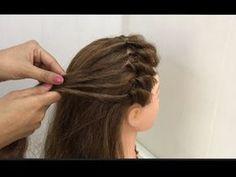 Open Hairstyles, Bun Hairstyles For Long Hair, Hairstyle Look, Braided Hairstyles, Hairstyle Photos, Saree Hairstyles, Indian Hairstyles, Front Hair Styles, Medium Hair Styles