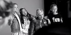 Exclusive: Ellen DeGeneres Forms Her Own Mini Girl Squad - Get a sneak peek at Ellen DeGeneres' impossibly cute #GapKidsxED collection : elle - 7/13/15