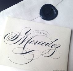 ✍ Sensual Calligraphy Scripts ✍ initials, typography styles and calligraphic art - Schin Loong