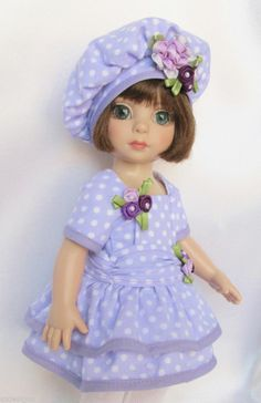 """PATSY'S PRETTY IN PURPLE! FOR 10"""" ANN ESTELLE, ETC. MADE BY SSDESIGNS"""