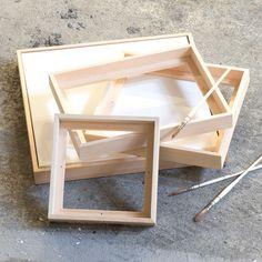 Add that final touch to your painting with an elegant floater frame. Prices from DKK 28,80 / SEK 39,80 / NOK 39,80 / EUR 4,03 / ISK 798 #canvasframe #floaterframe #frame #canvas art #decoration #interior #design #decor #home #wall #svæveramme #lærredsramme #inspiration #artistmaterials #sostrenegrene #søstrenegrene