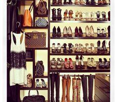 Future purse and shoe closet