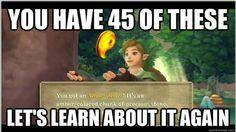 Legend of Zelda Video Game Logic