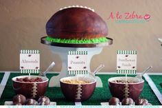 Great football cake! #football #party