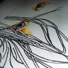 #sketching #eyes #drawing #art #indonesia #devianart #project ##scifi