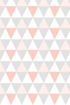 Perfect reference for a colour scheme this season. Pink Wallpaper Iphone, Pastel Wallpaper, Pink Chevron Wallpaper, Triangle Background, Background Patterns, Textures Patterns, Print Patterns, Paper Scrapbook, Deco Rose