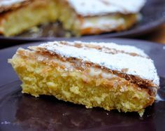 Torta Inglesa con Crema Pastelera.