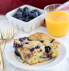 Blueberry Buttermilk Pancake Casserole