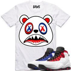 4822cc11c4eb Baws Clothing Shirt to match the Nike Air Jordan Retro 10
