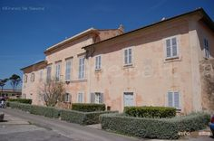 Italy - Elba Island: Palazzina dei Mulini - once the official residence of Napoleon when exiled