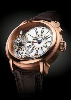 Audemars Piguet Millenary Quadriennium – an annual calendar watch that requires a single adjustment every four years! 26149OR.OO.D803CR.01