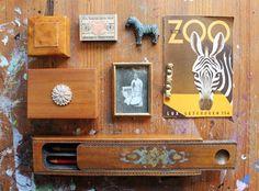 mano kellner, sammlung mit holz und zebra