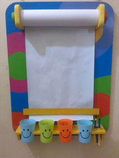 Tableau dessin diy - Shoe Tutorial and Ideas Diy For Kids, Crafts For Kids, Kids Fun, Home Daycare, Baby Play, Diy Toys, Toddler Activities, Therapy Activities, Kids Playing