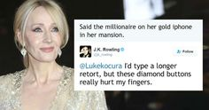 J. K. Rowling`s 12 Most Brutal Comebacks on Social Media - BuzzFanzine