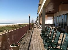 Ocean City, Maryland | Rockers at the Dunes Manor Hotel
