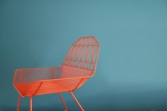 Red 'Farmhouse' chair by Bend Seating