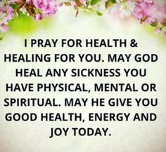 Prayer for healing quotes: i pray for health & healing for you. Healing Scriptures, Prayers For Healing, Healing Quotes, Spiritual Prayers, Healing Prayer, Miracle Prayer, Healing Hands, Dad Quotes, Prayer Quotes