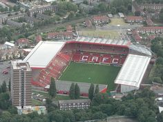 The Valley; Charlton Athletic -- London.