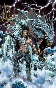 Arthur Curry/Aquaman.